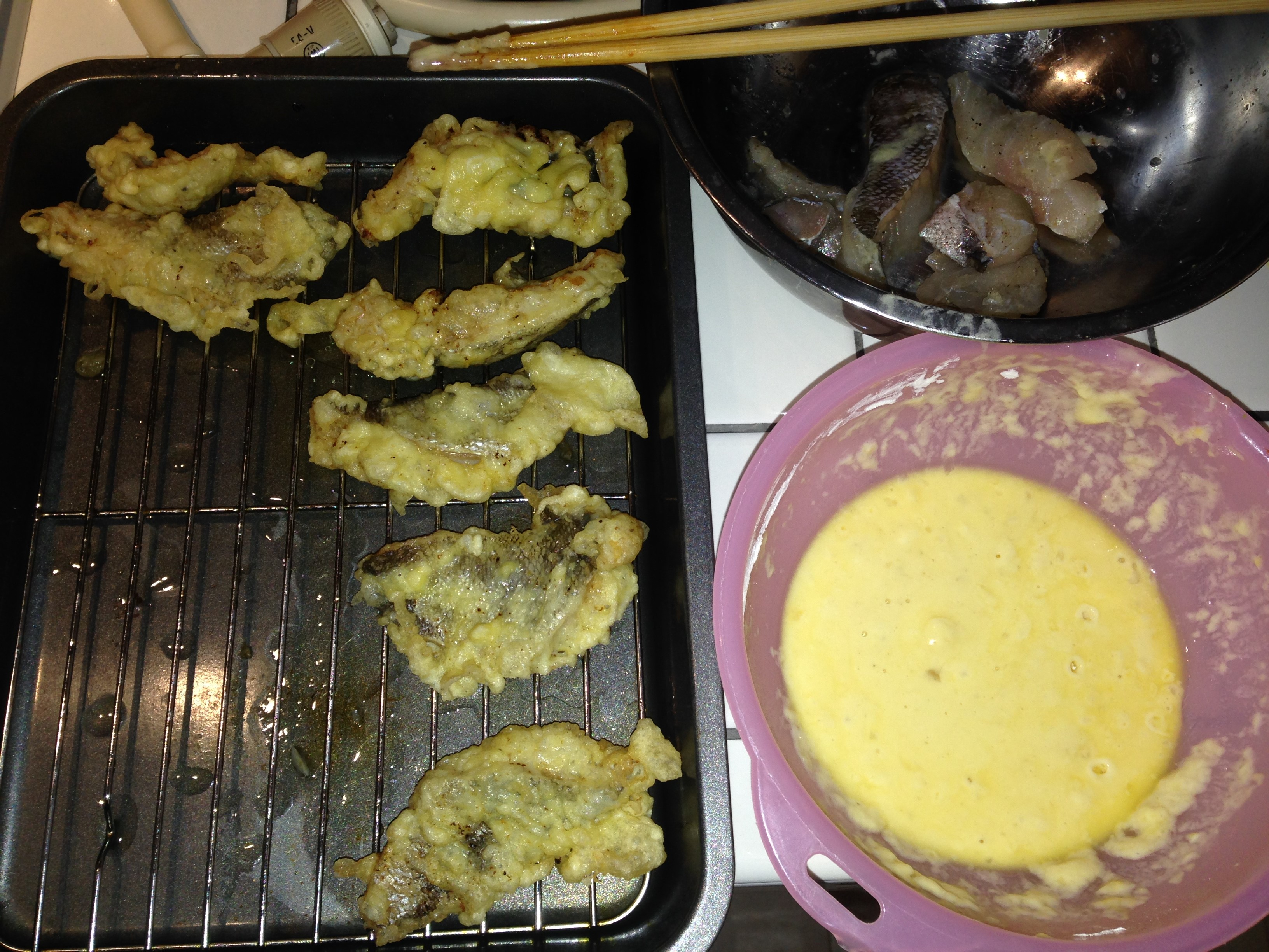 男の簡単料理 12皿目「タラのフリット」