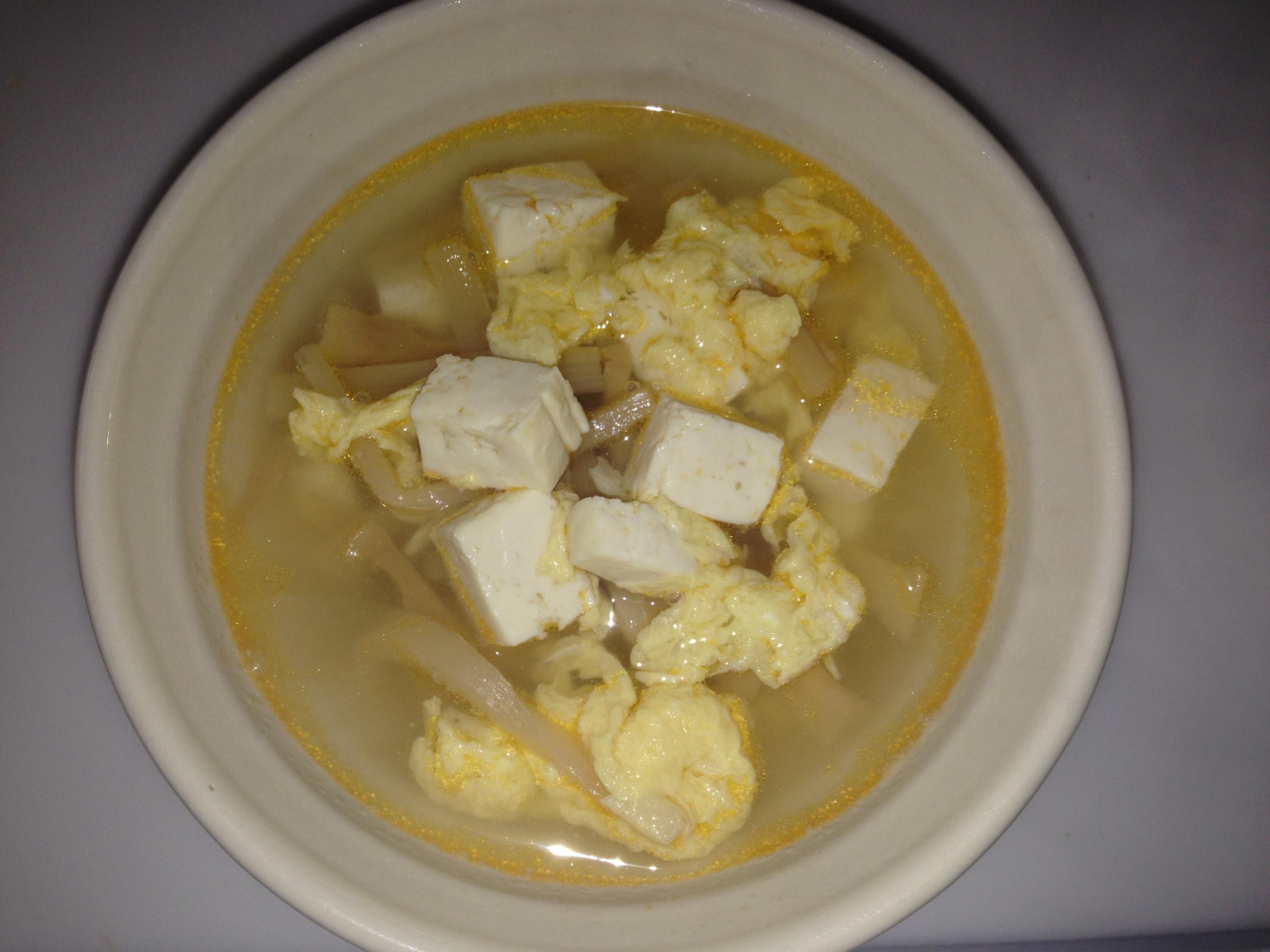 男の簡単料理 19皿目「酸辣湯風スープ」